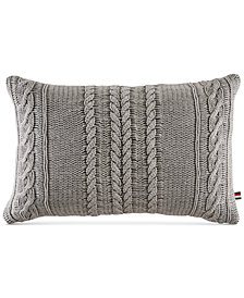 "Tommy Hilfiger Sail Rope 12"" x 18"" Decorative Pillow"