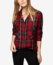 Plaid Shirts For Women: Shop Plaid Shirts For Women - Macy's