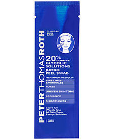 Peter Thomas Roth 20% Glycolic Solutions Jumbo Peel Swab
