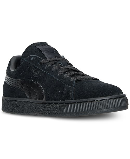 3e92052f54b7 Puma Men s Suede Classic Casual Sneakers from Finish Line - Finish ...