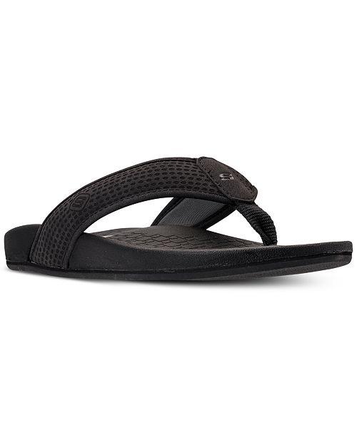 4b9bf4c6c85c Skechers Men s Pelem Emiro Thong Sandals from Finish Line   Reviews ...