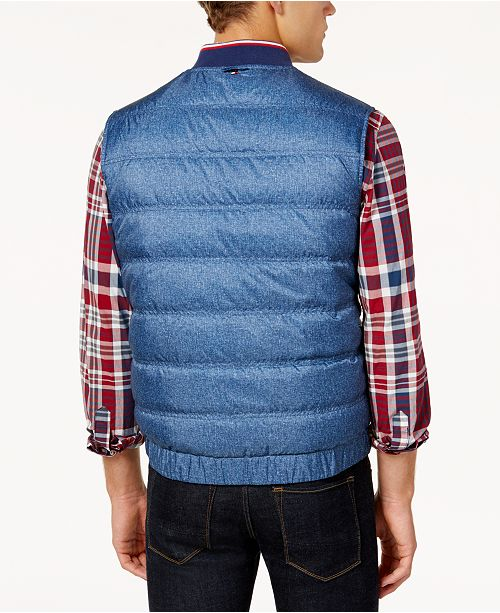 35db4f658 Tommy Hilfiger Men's Reversible Puffer Vest, Created for Macy's ...