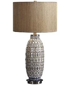 Uttermost Lokni Aged Table Lamp