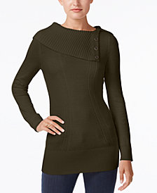 Style & Co Envelope-Neck Sweater, Created for Macy's