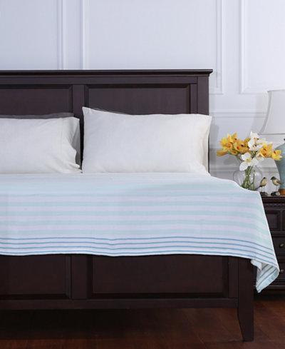 Berkshire Striped Lightweight Twin Blanket