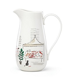 Kate Spade Union Square Accents Pitcher
