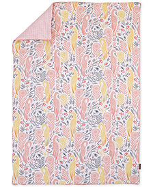 DwellStudio Boheme  100% Cotton Percale Reversible Blanket