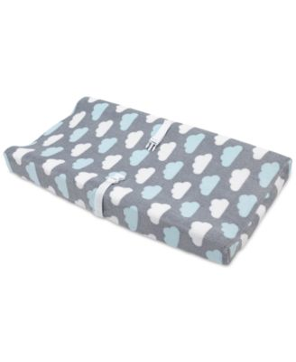 Little Love by Happy Little Clouds Graphic-Print Changing Table Cover