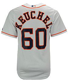 Majestic Men's Dallas Keuchel Houston Astros Player Replica CB Jersey