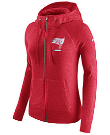 Nike Women's Tampa Bay Buccaneers Gym Vintage Full-Zip Hoodie