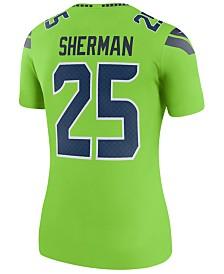 Nike Women's Richard Sherman Seattle Seahawks Color Rush Legend Jersey