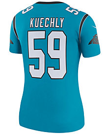 Nike Women's Luke Kuechly Carolina Panthers Color Rush Legend Jersey