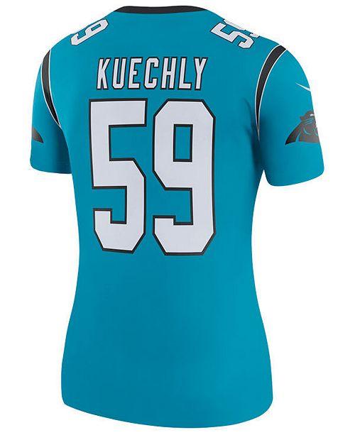 Nike Women's Luke Kuechly Carolina Panthers Color Rush Legend