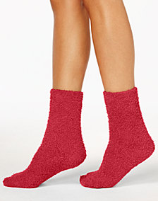 Charter Club Women's Supersoft Fuzzy Cozy Socks, Created for Macy's