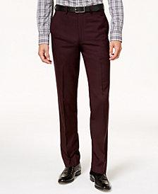 Calvin Klein Men's Slim-Fit Stretch Solid Dress Pants