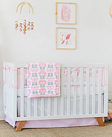 Petunia Pickle Bottom Dreaming in Dax  100% Cotton 3-Pc. Crib Bedding Set
