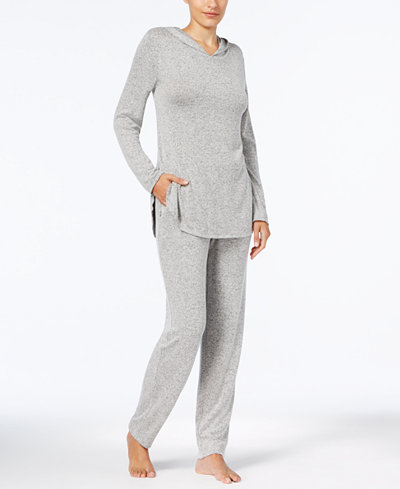 Alfani Hooded Top & Pajama Pants Sleep Separates, Created for Macy's