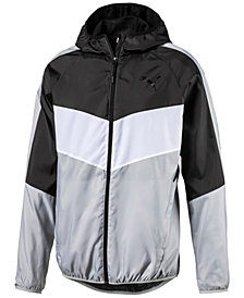 Puma Men's Colorblocked Windbreaker