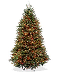 7' Dunhill® Fir Full-Bodied Tree With 700 Multicolor Lights