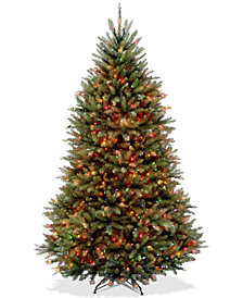 National Tree Company 7' Dunhill® Fir Full-Bodied Tree With 700 Multicolor Lights