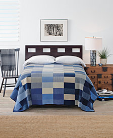 Pendleton Boro Patchwork Reversible Queen Blanket