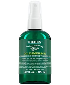 Kiehl's Since 1851 Oil Eliminator Refreshing Shine Control Toner For Men, 4.2-oz.
