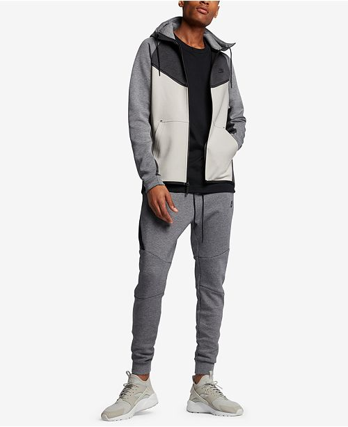 06ef68ee81f5 Nike Men s Sportswear Tech Fleece Windrunner Zip Hoodie   Reviews ...
