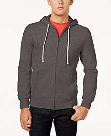Tommy Hilfiger Men's Big & Tall Plains Drawstring Hoodie