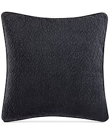 """CLOSEOUT! Tracy Porter Reversible Velvet Quilted 20"""" Square Decorative Pillow"""