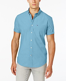 Big & Tall Men's Maxwell Short-Sleeve Button-Down Shirt
