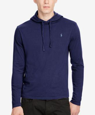 d0f4d6a3ae8f Polo Ralph Lauren Men s Jersey T-Shirt Hoodie   Reviews - T-Shirts - Men -  Macy s