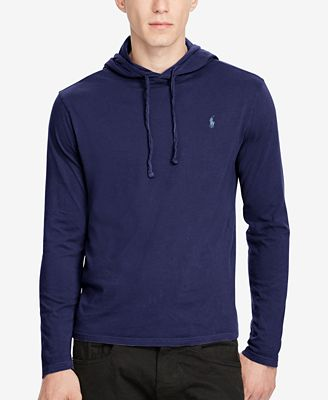 Polo Ralph Lauren Men's Jersey T-Shirt Hoodie - Hoodies ...