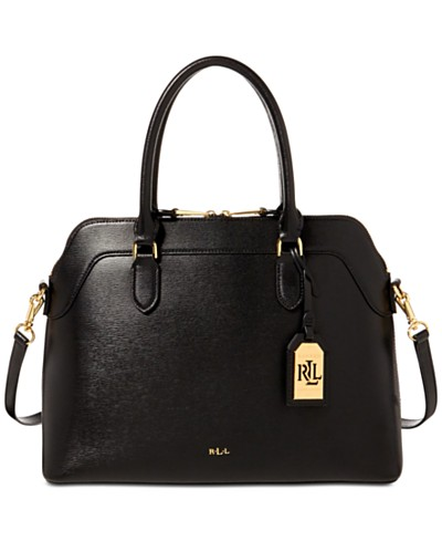 Lauren Ralph Lauren Nora Medium Satchel