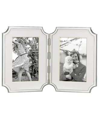 """Sullivan Street Hinged Double 4"""" x 6"""" Picture Frame"""