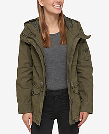 Levi's® Hooded Military Jacket