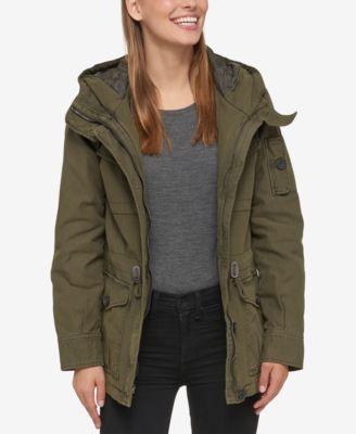 Jacket fur pockets