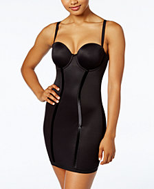 Maidenform Women's  Firm Control Strapless Convertible Full Slip 2304