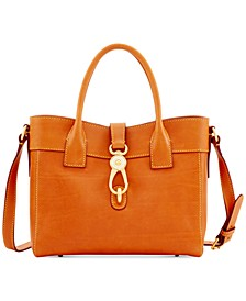 Florentine Amelie Small Leather Tote