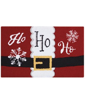 "Image of Nourison Holiday Ho Ho Ho 20"" x 30"" Accent Rug"