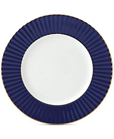 Lenox Pleated Colors Navy  Salad Plate