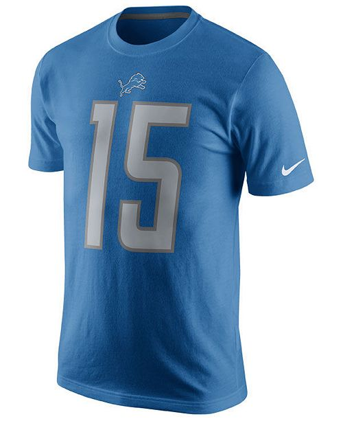 b84ec4d91 Nike Men s Golden Tate Detroit Lions Pride Name and Number T-Shirt ...