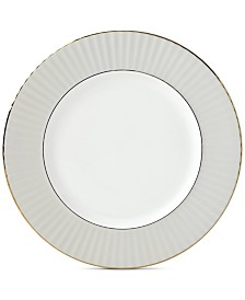 Lenox Pleated Colors Gray Dinner Plate