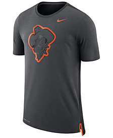Nike Men's Oklahoma State Cowboys Meshback Travel T-Shirt