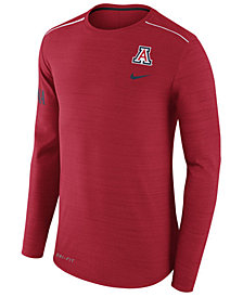Nike Men's Arizona Wildcats Dri-Fit Breathe Long Sleeve T-Shirt