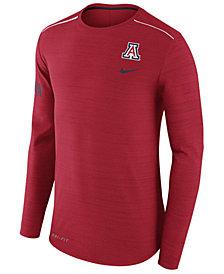 Nike Men's Arizona Wildcats Dri-Fit Breathe Long Sleeve T-Shirt