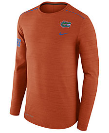Nike Men's Florida Gators Dri-Fit Breathe Long Sleeve T-Shirt
