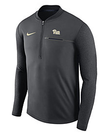 Nike Men's Pittsburgh Panthers Coaches Quarter-Zip Pullover