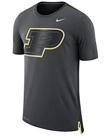 Nike Men's Purdue Boilermakers Meshback Travel T-Shirt