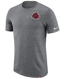 Nike Men's Ohio State Buckeyes Marled Patch T-Shirt