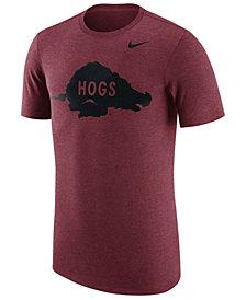 Nike Men's Arkansas Razorbacks Vault Logo Tri-Blend T-Shirt